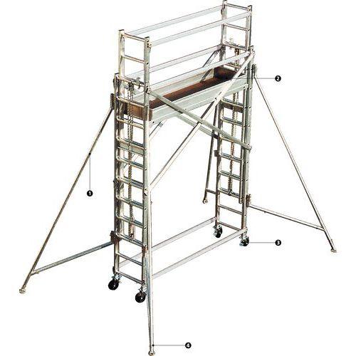 echafaudage aluminium roulant achat echafaudage aluminium roulant achat entre pro. Black Bedroom Furniture Sets. Home Design Ideas