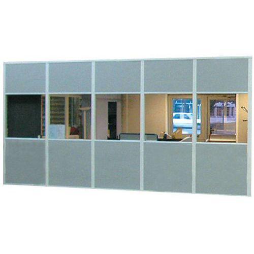 Cloison de bureau manutan le plus grand choix cloison de bureau sur achat en - Panneau vitre cloison ...