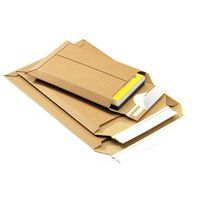 Enveloppe carton - À soufflet - Ouverture par le haut