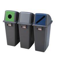 Couvercle pour poubelle - Ekwo - 60 et 80 L