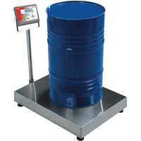 Balances de réception à colonne - Portée 60 kg
