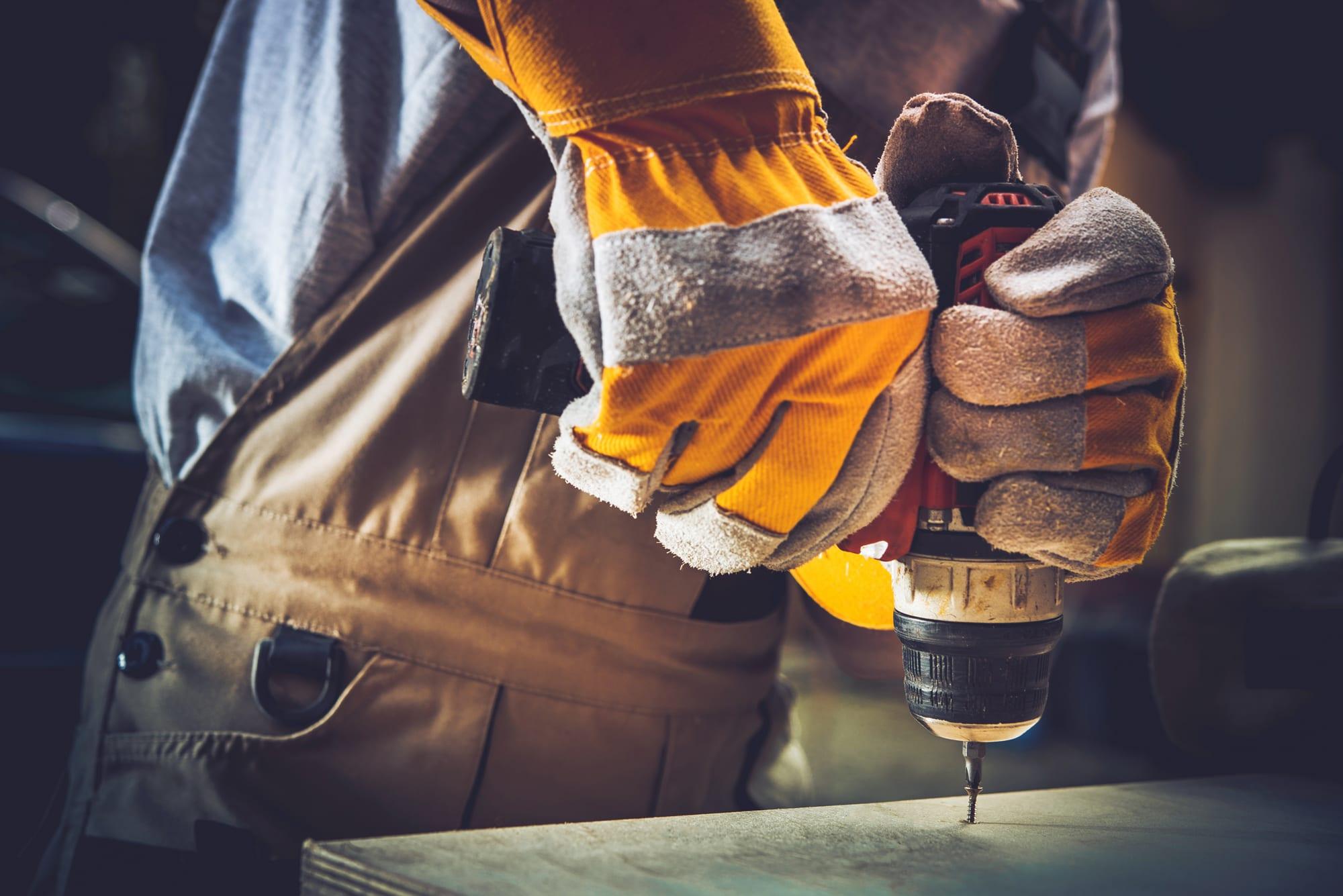 protégez vos mains au travail
