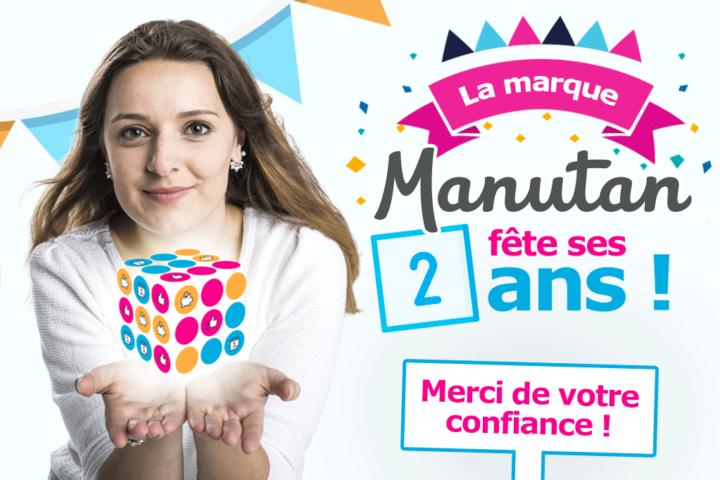 La marque Manutan fête ses 2 ans
