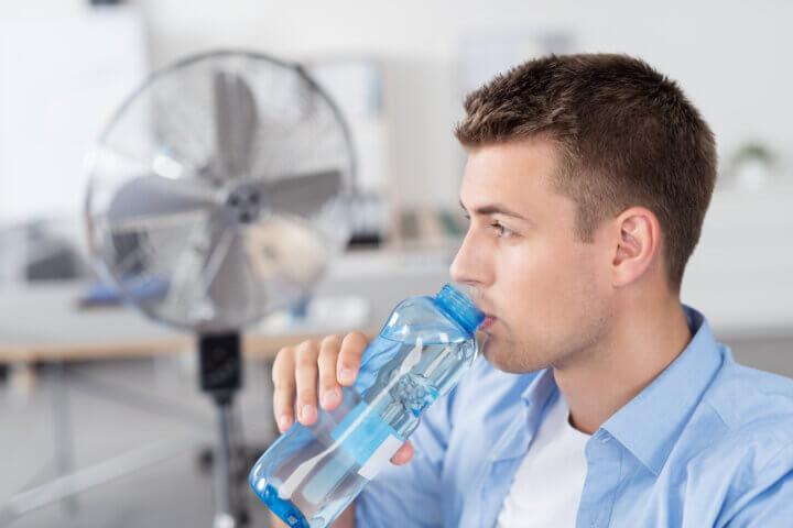 Canicule au travail : équipement face à la chaleur au travail