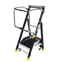 Plateforme industrielle roulante ergonomique Stepper