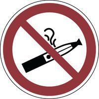 Panneau interdiction - Interdit de vapoter - Aluminium