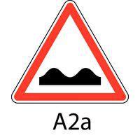 panneau de signalisation de danger a2a cassis ou dos d 39 ne. Black Bedroom Furniture Sets. Home Design Ideas