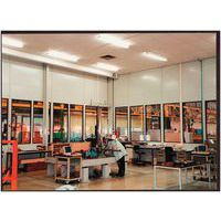 cloison double paroi en t le d 39 acier panneau vitr 8 mm ha. Black Bedroom Furniture Sets. Home Design Ideas