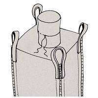 sac gravats big bag avec goulotte de remplissage 1500 kg m. Black Bedroom Furniture Sets. Home Design Ideas