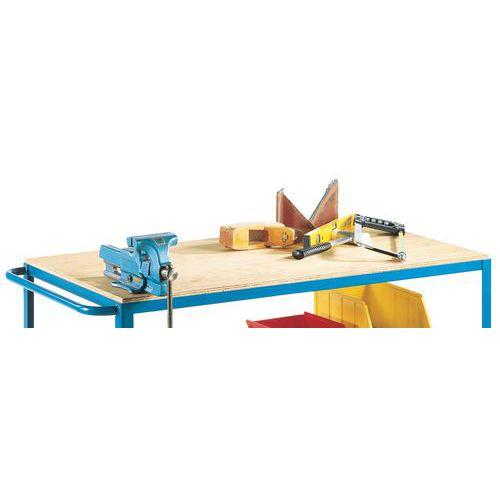 plan de travail pour tabli mobile 100 115 5. Black Bedroom Furniture Sets. Home Design Ideas