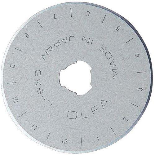 Lame de rechange pour cutter - Pour modèle à lame tournante - 45 mm