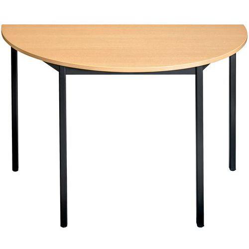 table de r union demi ronde. Black Bedroom Furniture Sets. Home Design Ideas