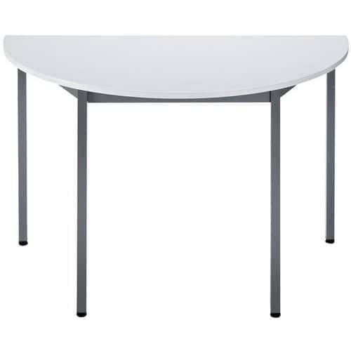 Table de réunion modulaire universelle - Demi-cercle - Manutan