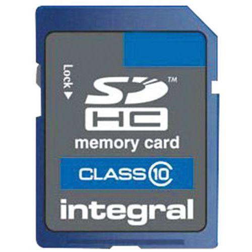 Carte mémoire SDHC - 4 Go - Intégral