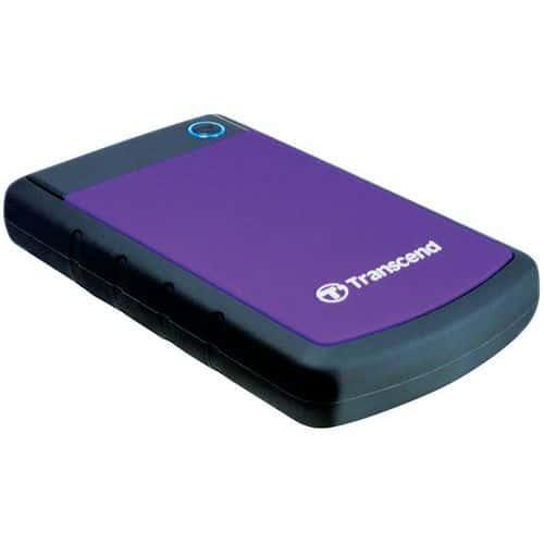 Transcend StoreJet disque dur externe - Format 2.5 - 1 To & 2 To