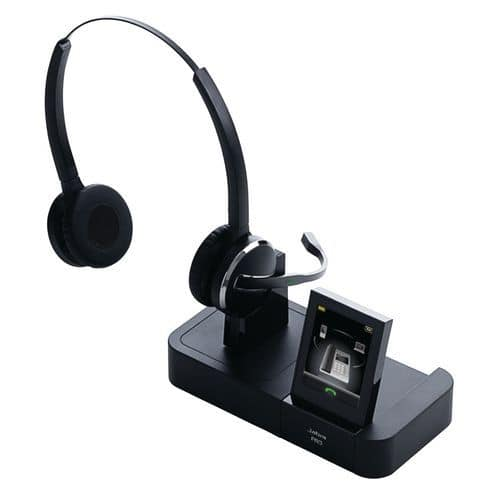 micro casque sans fil dect jabra pro 9465. Black Bedroom Furniture Sets. Home Design Ideas