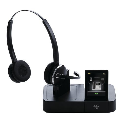 micro casque sans fil dect jabra pro 9460 duo. Black Bedroom Furniture Sets. Home Design Ideas