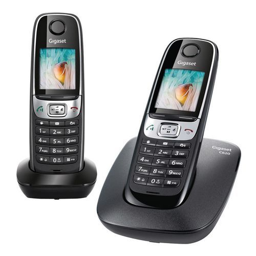 t l phone dect gigaset c620 duo. Black Bedroom Furniture Sets. Home Design Ideas