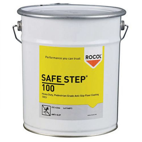 Peinture antid rapante safe step 100 for Peinture antiderapante exterieur