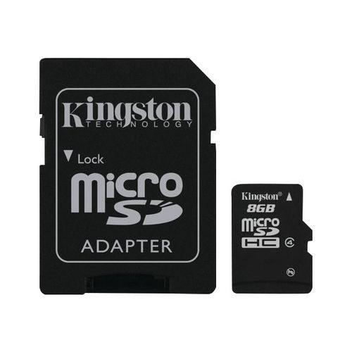 Carte mémoire micro SDHC - 8 Go - Kingston