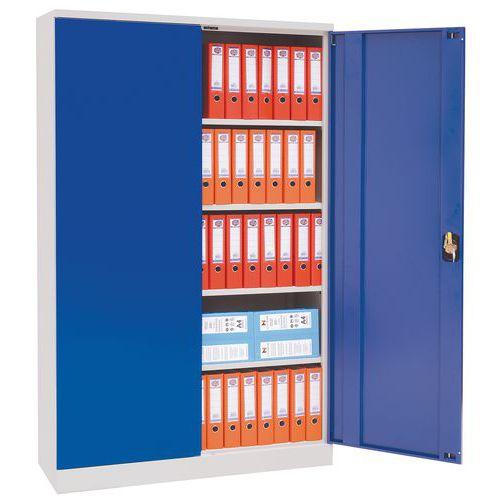 armoire d 39 atelier en kit hauteur 195 cm manutan. Black Bedroom Furniture Sets. Home Design Ideas