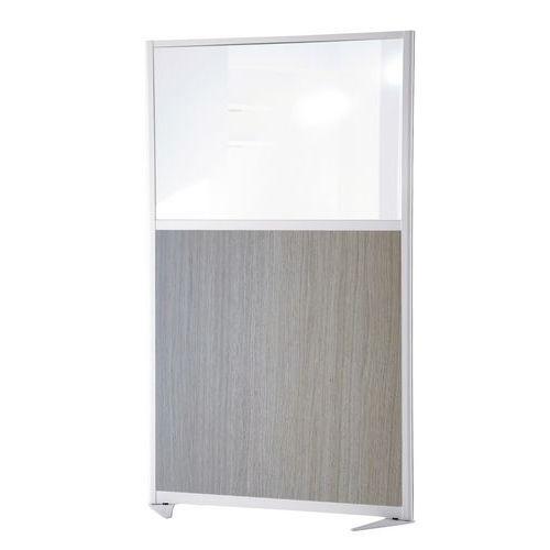 Cloison de séparation tendance - Panneau semi-vitré - Hauteur 170 cm
