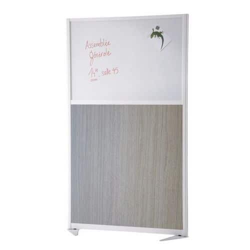 Cloison de séparation tendance - Panneau semi-tableau magnétique - Hauteur 170 cm