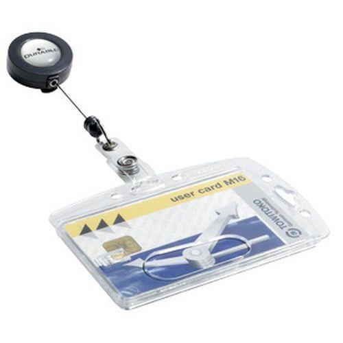 porte badge pour carte magn tique avec enrouleur