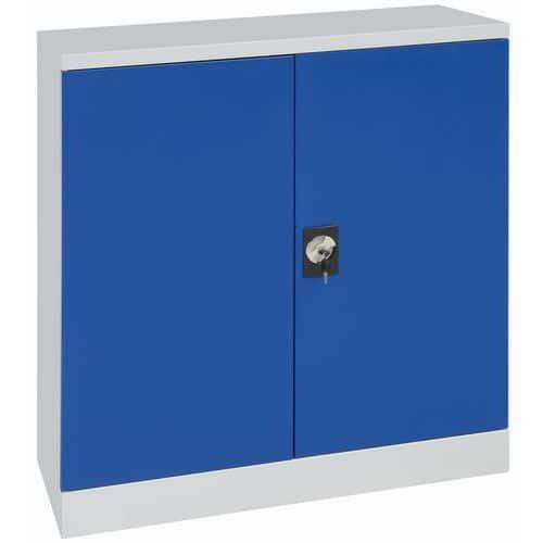 Armoire d'atelier en kit - Hauteur 100 cm - Manutan