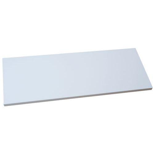 Tablette pour armoire à portes battantes - Gris clair - Manutan