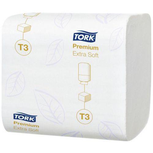 Papier toilette Premium extra doux Tork - Feuille
