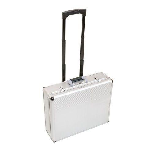 valise trolley aluminium vide. Black Bedroom Furniture Sets. Home Design Ideas