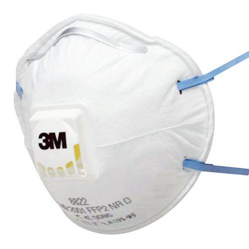 Demi-masque coque à usage unique série 8000 - FFP2