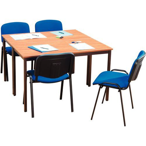 Ensemble de table de r union 2 tables et 4 chaises - Ensemble tables et chaises ...