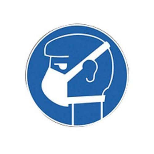 Panneau d'obligation - Port d'un masque obligatoire - Rigide