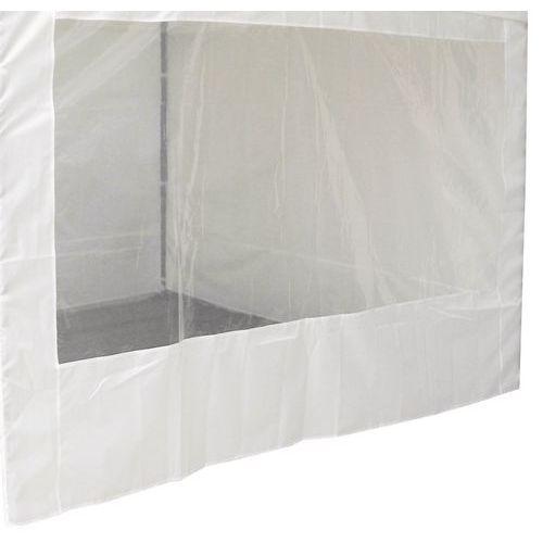 Bâche pour tente aluminium - Paroi avec fenêtre