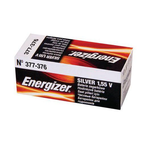 Pile oxyde d'argent pour montre - 376 - 377 - Energizer