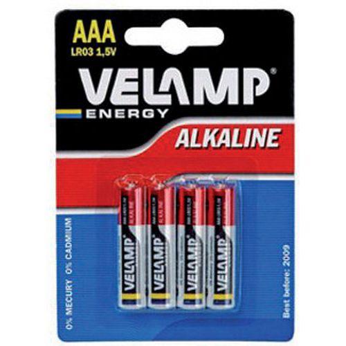 Pile alcaline - Éco - AAA/LR03 - Velamp