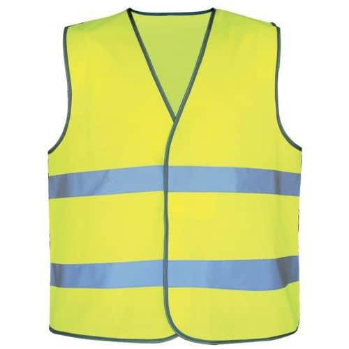 Gilet de sécurité haute visibilité - Jaune