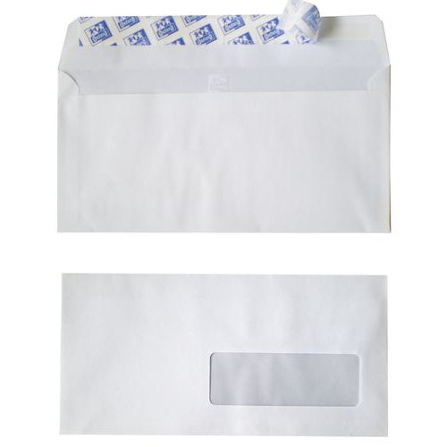 Enveloppe blanche fen tre auto adh sive for Enveloppe a fenetre