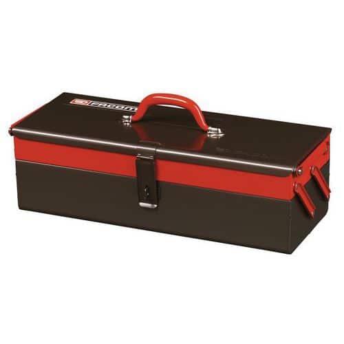 Boîte à outils métallique 2 cases