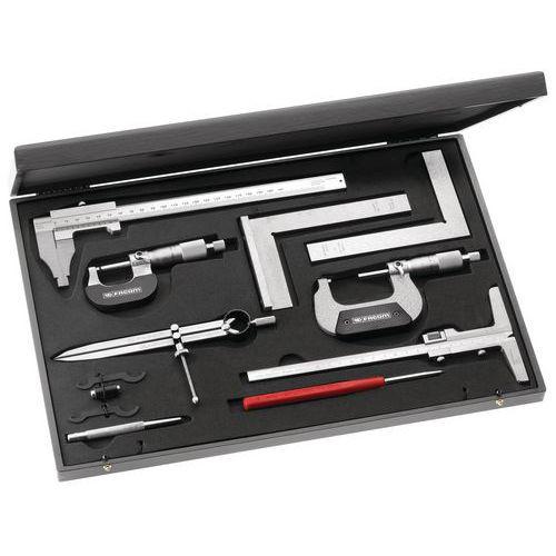 Coffret métrologie-contrôle 10 outils