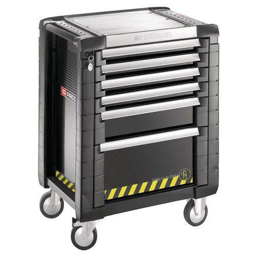 Servante JET+ 6 tiroirs - 3 modules par tiroir - gamme sécurité