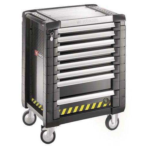 Servante JET+ 8 tiroirs - 3 modules par tiroir - gamme sécurité