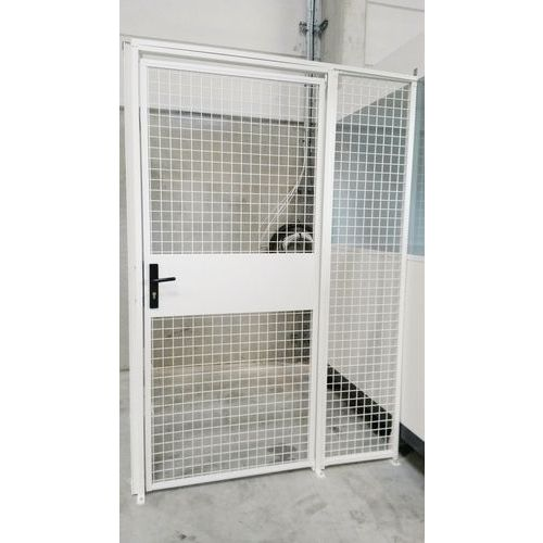 Cloison grillagée modulaire - Porte