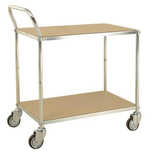 Chariot à plateaux ESD - 2 plateaux - Capacité 150 kg