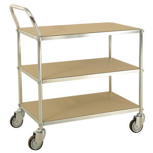 Chariot à plateaux ESD - 3 plateaux - Capacité 150 kg