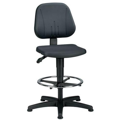 Siège d'atelier ergonomique Bimos Unitec - Haut