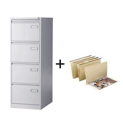 pack classeur tiroirs dossiers suspendus. Black Bedroom Furniture Sets. Home Design Ideas