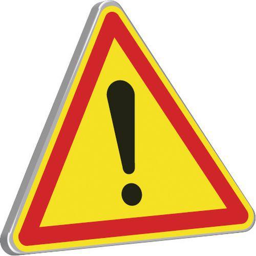 panneau de signalisation temporaire de chantier ak14 danger. Black Bedroom Furniture Sets. Home Design Ideas